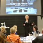 Elin Hurvenes tijdens het Professional Boards Forum