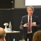 Dick Benschop tijdens het Professional Boards Forum