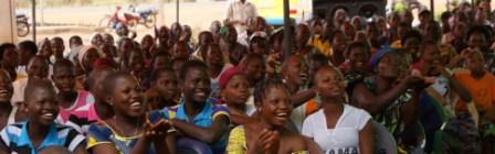 Muriel Schrikkema in Benin bezoekt het epoicentrum in Kissamey