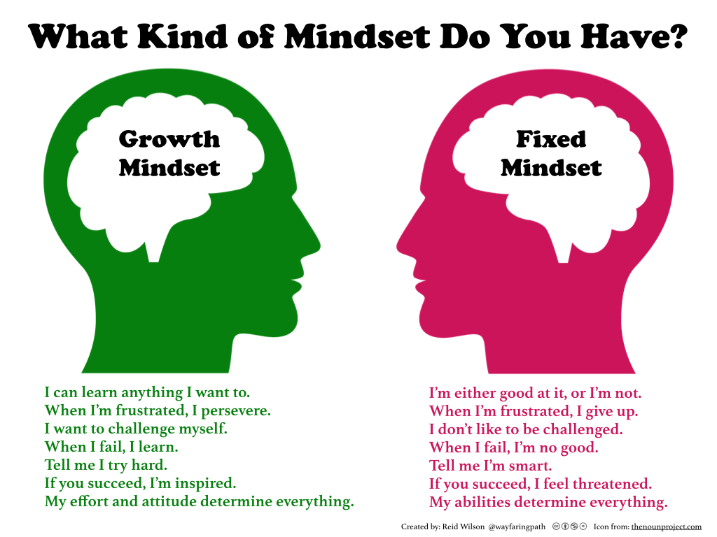 Van Fixed naar Growth Mindset