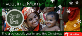 kerstgroet Hunger Project